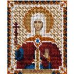"""Набор для вышивания бисером Panna ЦМ-1782 """"Икона Святой мученицы Лидии Иллирийской"""" 8,5x11 см."""